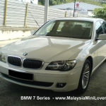 BMW 7 series extended warranty