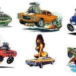 Muscle Car Art
