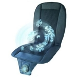 Water cooled car seat