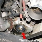 How to change a thermostat on a Ford Ranger