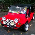 Red Mini Moke That Looks Spicy